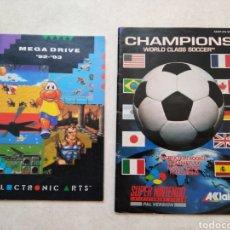 Juguetes antiguos y Juegos de colección: LOTE DE 2 REVISTAS MEGADRIVE Y SÚPER NINTENDO. Lote 253346790