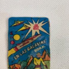 Juguetes antiguos y Juegos de colección: SOBRE SIN ABRIR EN LAS GALAXIAS CON SUPER MISSIL.. Lote 253455640