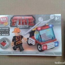 Juguetes antiguos y Juegos de colección: BLOCK TECH. FIRE DEPT. 43 PIEZAS. Lote 257387860