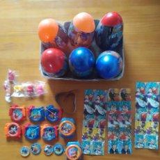 Brinquedos antigos e Jogos de coleção: LOTE 6 MEGA HUEVOS SORPRESA DRAGON BALL SUPER CON GRAGEAS Y JUGUETES VARIOS (GK). Lote 258167475
