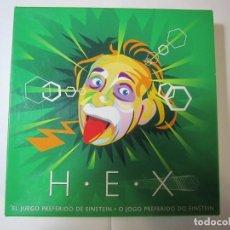 Giocattoli antichi e Giochi di collezione: JUEGO DE MESA H.E.X EL JUEGO PREFERIDO DE EINSTEIN. Lote 260355465