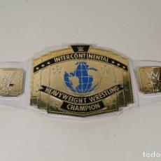 Giocattoli antichi e Giochi di collezione: WWE - CINTURÓN DE CAMPEÓN - CINTURÓN DEL CAMPEONATO INTERCONTINENTAL (MATTEL). Lote 260623425