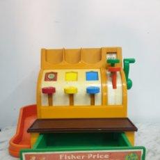 Juguetes antiguos y Juegos de colección: CASH REGISTER DE FISHER PRICE 1974. Lote 260722715