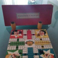 Giocattoli antichi e Giochi di collezione: RAREZA COLECCIONISTAS !! ANTIGUO JUEGO DE MESA JUGUETE ORIGINAL AÑOS 60 70 PARCHIS. Lote 260753525