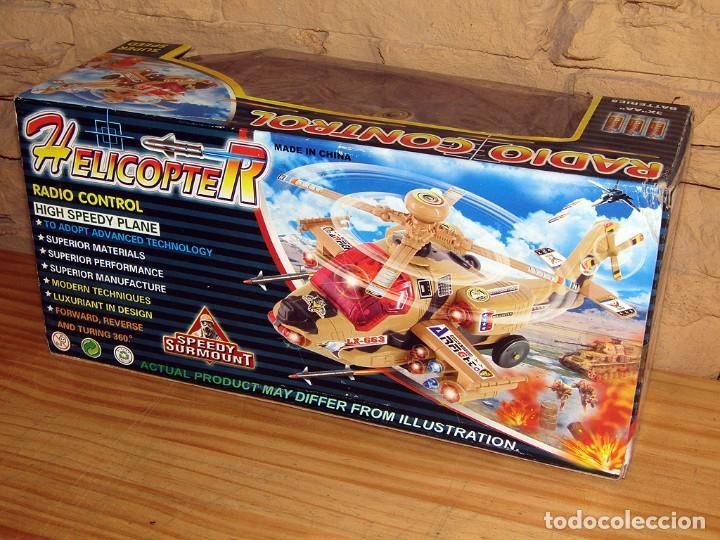 Juguetes antiguos y Juegos de colección: HELICOPTERO RADIO CONTROL - NUEVO Y EN SU CAJA ORIGINAL - Foto 2 - 261651600