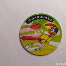 Juguetes antiguos y Juegos de colección: TAZO MATUTANO 1994 - WARNER BROS TAZO AZUL - Nº 2. Lote 261785445