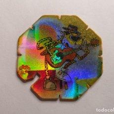 Juguetes antiguos y Juegos de colección: TAZO MATUTANO - ROCK & CHESTER - TAZO FLASH - Nº 18. Lote 261787935