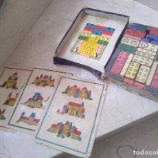 Juguetes antiguos y Juegos de colección: ANTIGUO JUEGO EL PEQUEÑO ARQUITECTO NÚMERO 2. COMPLETO. AÑOS 30. Lote 262378130