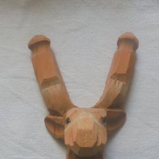 Jouets Anciens et Jeux de collection: TIRACHINAS DE MADERA HECHA A MANO - RENO. Lote 262451150
