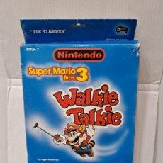 Juguetes antiguos y Juegos de colección: SUPER MARIO BROS 3. WALKIE TALKIE. NUEVO EN CAJA. NINTENDO. FUNCIONA. 1990.MICROGAMES USA.SUPERMARIO. Lote 264788839