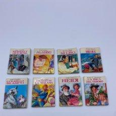 Juguetes antiguos y Juegos de colección: LOTE MINI BIBLIOTECA DE LA LITERATURA UNIVERSAL PETETE. Lote 268165899