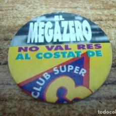 Juguetes antiguos y Juegos de colección: TAZO CLUB SUPER TRES Nº 18. Lote 269205468