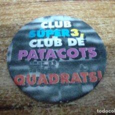 Juguetes antiguos y Juegos de colección: TAZO CLUB SUPER TRES Nº 4. Lote 269212538