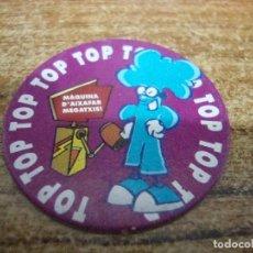 Juguetes antiguos y Juegos de colección: TAZO CLUB SUPER TRES Nº 9. Lote 269212758