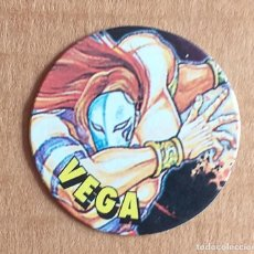 Juguetes antiguos y Juegos de colección: TAZO Nº 10 VEGA CHICLES VIDAL STREET FIGHTER II.. Lote 270904163