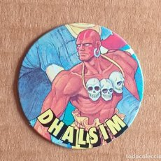 Juguetes antiguos y Juegos de colección: TAZO Nº 23 DHALSIM CHICLES VIDAL STREET FIGHTER II.. Lote 270904563