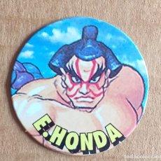 Juguetes antiguos y Juegos de colección: TAZO Nº 27 E. HONDA CHICLES VIDAL STREET FIGHTER II.. Lote 270905068