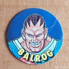 Juguetes antiguos y Juegos de colección: TAZO Nº 34 BALROG CHICLES VIDAL STREET FIGHTER II.. Lote 270905218