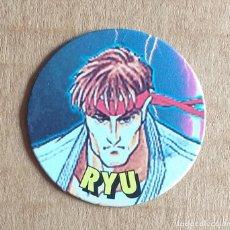 Juguetes antiguos y Juegos de colección: TAZO Nº 36 RYU CHICLES VIDAL STREET FIGHTER II.. Lote 270905373