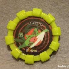 Juguetes antiguos y Juegos de colección: TAZO BOINX POKEMON NINTENDO - Nº 43 . * GROVYLE * - TAZOS CHEETOS CHIPICAO AÑO 2007 - BUEN ESTADO.. Lote 270954408
