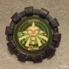 Juguetes antiguos y Juegos de colección: TAZO BOINX POKEMON NINTENDO - Nº 61 . * BALTOY * - TAZOS CHEETOS CHIPICAO AÑO 2007 - BUEN ESTADO.. Lote 270955033
