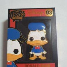 Juguetes antiguos y Juegos de colección: POP PIN DISNEY DONALD DUCK ESTADO NUEVO MAS ARTICULOS. Lote 271843458