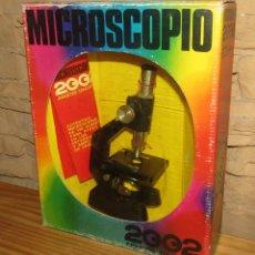 Brinquedos antigos e Jogos de coleção: ANTIGUO MICROSCOPIO 2002, DE GRAINES - NUEVO Y EN SU CAJA - AÑOS 70. Lote 272559798