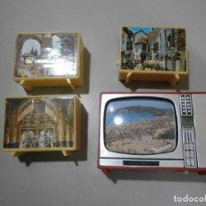 Juguetes antiguos y Juegos de colección: LOTE DE 4 VISOR TELEVISION. Lote 274230603