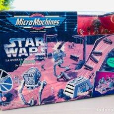 Juguetes antiguos y Juegos de colección: MICROMACHINES ENDOR, SAGA STAR WARS EL RETORNO DEL JEDI.. Lote 274528113