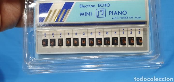 Juguetes antiguos y Juegos de colección: MINI PIANO - ELECTRON ECHO - AUTO POWER - MINI LIBRO DE CANTOS - Foto 2 - 275073628