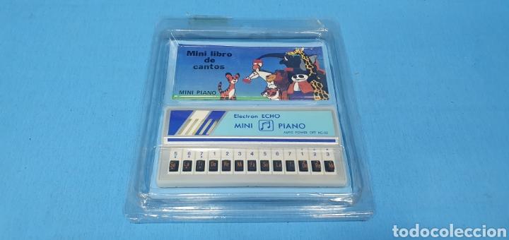 MINI PIANO - ELECTRON ECHO - AUTO POWER - MINI LIBRO DE CANTOS (Juguetes - Varios)