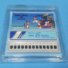 Juguetes antiguos y Juegos de colección: MINI PIANO - ELECTRON ECHO - AUTO POWER - MINI LIBRO DE CANTOS. Lote 275073628