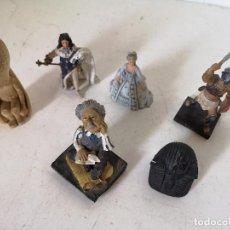 Jouets Anciens et Jeux de collection: LOTE DE 6 FIGURAS, DIFERENTES CONCEPTOS Y MATERIALES, A CLASIFICAR. Lote 276180728