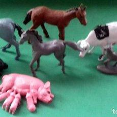 Juguetes antiguos y Juegos de colección: FIGURAS Y SOLDADITOS PARA DIFERENTES CTMS -14508. Lote 276775533