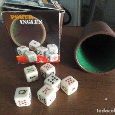 Juguetes antiguos y Juegos de colección: JUEGO DE DADOS. Lote 276905213