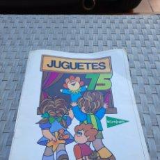 Juguetes antiguos y Juegos de colección: CATALOGO JUGUETES EL CORTE INGLES 1975. Lote 277302113