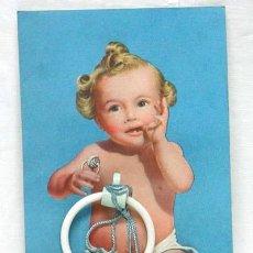 Juguetes antiguos y Juegos de colección: SONAJERO INFANTIL BEBE TA-TAY AÑOS 50. Lote 278370428