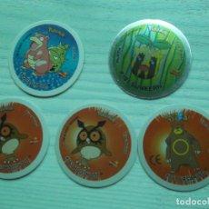 Giocattoli antichi e Giochi di collezione: 5 GIGANTAZOS POKEMON-VARIADOS UNO REPETIDO. Lote 278884473