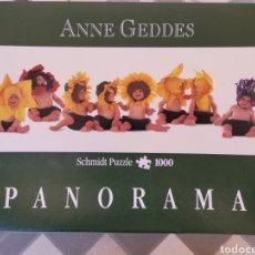 Juguetes antiguos y Juegos de colección: PUZZLE ANNE GEDDES PANORAMA. Lote 279586863