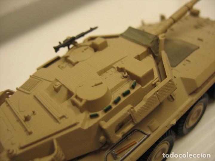 Juguetes antiguos y Juegos de colección: tanque militar mide 12 cm. con el cañon desconosco marca - Foto 6 - 286515178