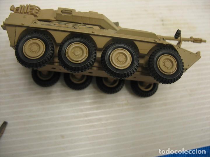 Juguetes antiguos y Juegos de colección: tanque militar mide 12 cm. con el cañon desconosco marca - Foto 10 - 286515178