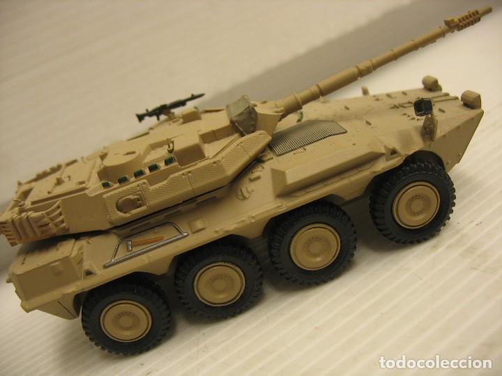 Juguetes antiguos y Juegos de colección: tanque militar mide 12 cm. con el cañon desconosco marca - Foto 12 - 286515178