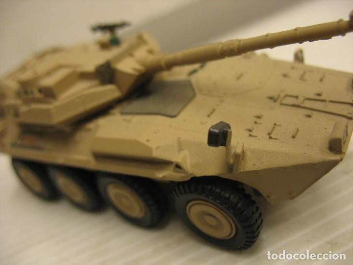 Juguetes antiguos y Juegos de colección: tanque militar mide 12 cm. con el cañon desconosco marca - Foto 13 - 286515178