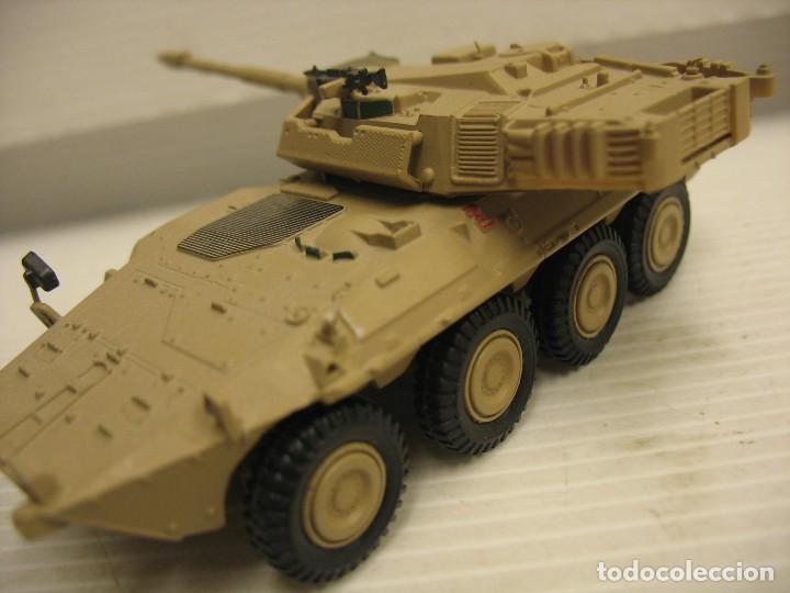 Juguetes antiguos y Juegos de colección: tanque militar mide 12 cm. con el cañon desconosco marca - Foto 15 - 286515178