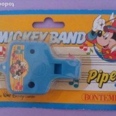Juguetes antiguos y Juegos de colección: MICKEY BAND - PIPER - WALT DISNEY - BONTEMPI - ITALIA. Lote 287210663