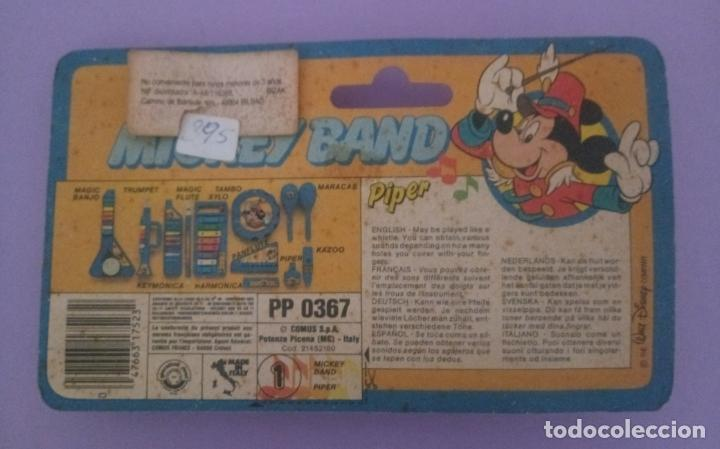 Juguetes antiguos y Juegos de colección: MICKEY BAND - PIPER - WALT DISNEY - BONTEMPI - ITALIA - Foto 2 - 287210748