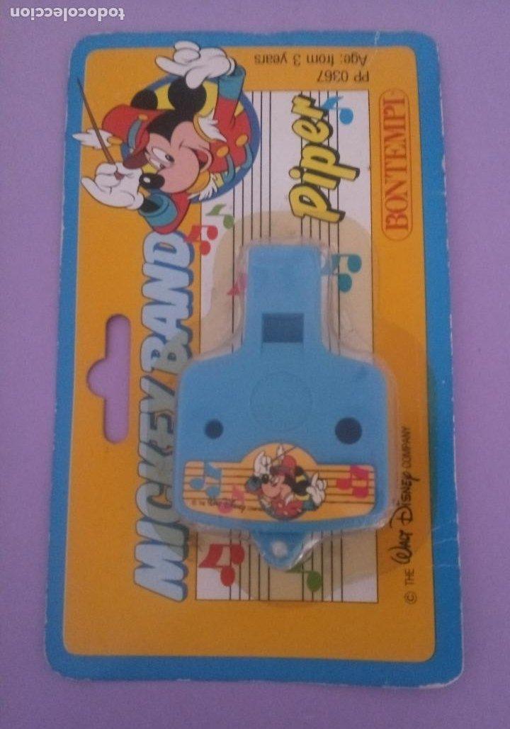 Juguetes antiguos y Juegos de colección: MICKEY BAND - PIPER - WALT DISNEY - BONTEMPI - ITALIA - Foto 3 - 287210748