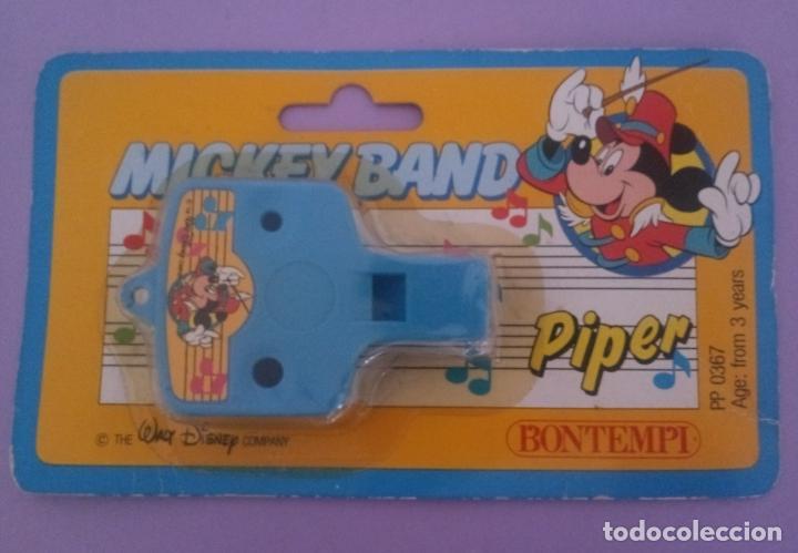 MICKEY BAND - PIPER - WALT DISNEY - BONTEMPI - ITALIA (Juguetes - Varios)