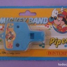 Juguetes antiguos y Juegos de colección: MICKEY BAND - PIPER - WALT DISNEY - BONTEMPI - ITALIA. Lote 287210748