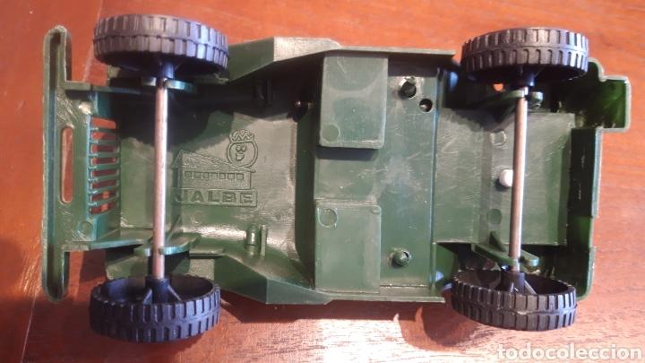 Juguetes antiguos y Juegos de colección: Jeep Willys- juguete plástico- marca jalbe años 70 - Foto 5 - 287260193